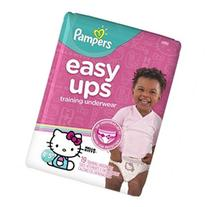 Pampers Easy Ups Hello Kitty Training Underwear for Girls 4T