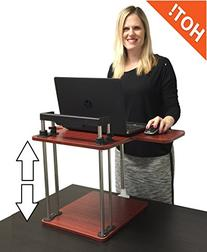 UpTrak - by Stand Steady Standing Desk - Height Adjustable