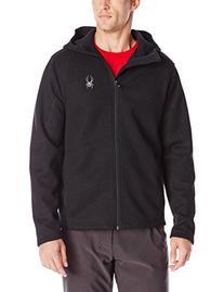 Spyder Men's Upward Full Zip Sweater, Graystone Melange/