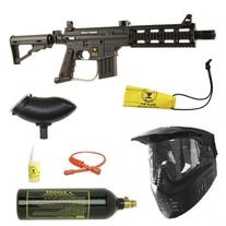 US Army Project Salvo Paintball Marker Gun 3Skull BC Package