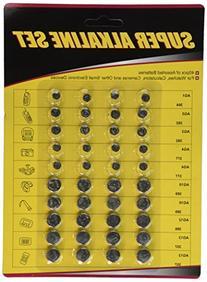 US Digital 40-Pack High Power Assorted Alkaline button Cell
