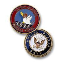 US Naval Air Station Pensacola Florida Challenge Coin