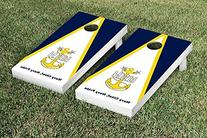 US Navy Chief Petty Officer Cornhole Game Set Triangle
