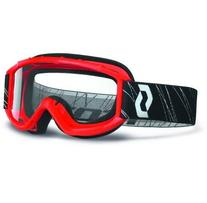 Scott USA 89Si Youth Goggles, Red/Clear Lens, Size Segment:
