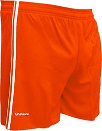 Vizari Campo Soccer Shorts, Orange, Youth Large