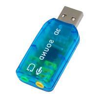 USB 2.0 External Audio Sound Card Adapter