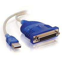 Cables to Go C2G 16899 6ft 25-Pin Parallel to USB Adapter