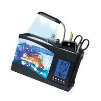 Fascinations USB Desktop Aquarium, 7.0 x 9.0 x 4.0 in,