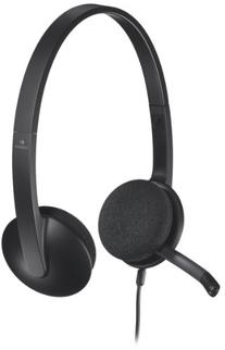 Logitech USB Headset H340 for Internet Calls and Music -