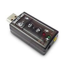 Dynamode USB-SOUNDCARD7 - USB 2.0 Virtual External 7.1
