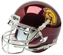 USC Trojans Collectible Alternate Chrome Mini Helmet