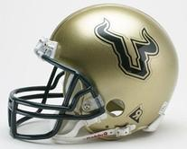 USF South Florida Bulls Riddell Mini Football Helmet
