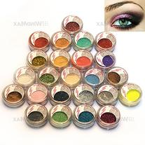 USPS Shipping! 24 Warm Smoked Metals Color Glitter Shimmer