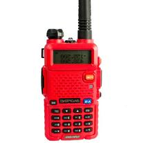 BaoFeng UV-5R RED COLOR 136-174/400-480 MHz Dual-Band DTMF