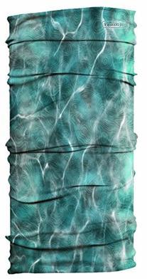 UV Buff Bug Slinger Fly Gear Headwear - Water Camo Grey