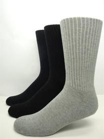 Vagden Diabetic Non-elastic Cushion Dress Socks