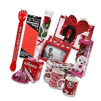 Valentine Gift Set; Complete with Gift Bag, Tissue Paper,