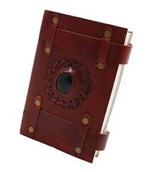 Valentines Day Brown Synthetic Leather Blank Journal