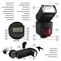 Best Value Professional AF Digital Flash Kit for NIKON D