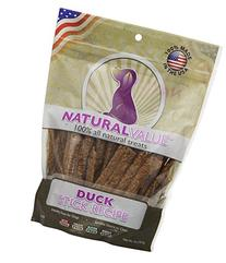 Loving Pets Natural Value All Natural Soft Chew Duck Sticks
