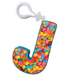 iscream Vanilla Scented Letter J Initial Squishem Backpack