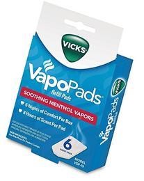 Vicks VapoPads Refill Pads Soothing Menthol Vapors VSP-19 -