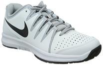 Nike Men's Vapor Court, WHITE/HYPER CRIMSON-DUSTY CACTUS-