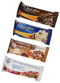 Quest Variety Pack, Cinnamon Roll, Vanilla Almond Crunch,
