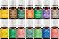 Essential Oil Set 14 - 5 ml. Pure Therapeutic Grade Includes