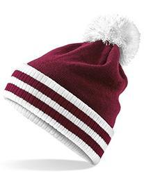 Beechfield Varsity Mens Winter Beanie Hat