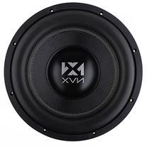 NVX 12-inch True 1000 watt RMS Dual 4-Ohm Car Subwoofer  3-