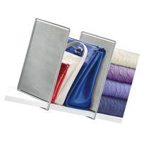 Lynk Vela Shelf Divider, Platinum, 2pk