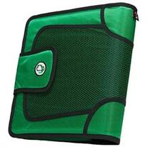 Case-it Velcro Closure 2-Inch Ring Binder with Tab File,