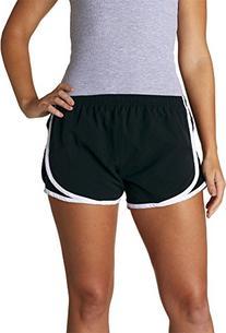 Boxercraft Ladies' Velocity Shorts - Black/ White/Black - L