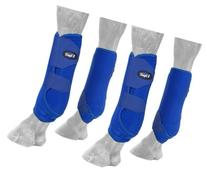 Tough 1 Extreme Vented Sport Boots Set, Royal Blue, Large