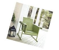 Veranda Single Glider Chair in Oasis Green