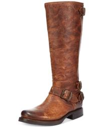 Frye Women's Veronica Back Zip Tall Boots Women's Shoes