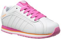 K-Swiss Verstad III PS Tennis Shoe ,White/Shocking Pink/