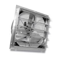 """VES 12"""" Exhaust Shutter Fan, Wall Mount, 1/10 Hp, W/9' Cord"""
