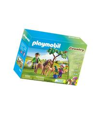 Playmobil Vet with Pony and Foal Set-MULTI-One Size
