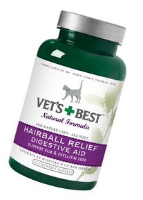 Vet's Best Cat Hairball Relief Digestive Aid, 60 Chewable
