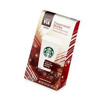 Starbucks Via Peppermint Mocha Latte - 5 Single Serve