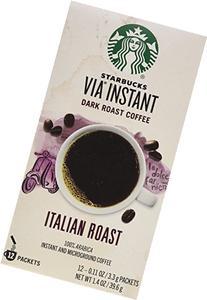 Starbucks VIA Ready Brew Italian Roast Coffee 1.4oz 12