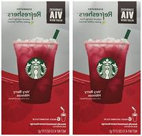 Starbucks VIA Refreshers Very Berry Hibiscus Instant