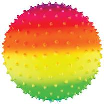 Franklin Sports Vibe 8.5-inch PVC Rainbow Ball with Spiikes