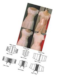 Victorian Underbust Corsets Pattern for Women and Men