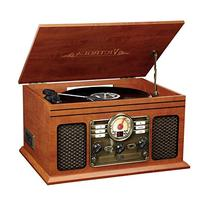 Victrola VTA-200B Nostalgic Classic 6-In-1 Turntable with