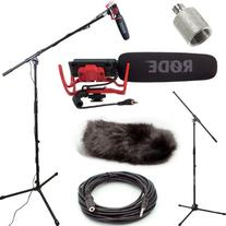 RODE VideoMic Studio Boom Kit with windmuff- VM, windmuff,