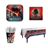 Star Wars VII The Force Awakens Party Supply Pack for 16
