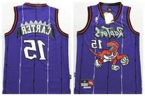 Vince Carter #15 Toronto Raptors Purple Throwback Jersey by